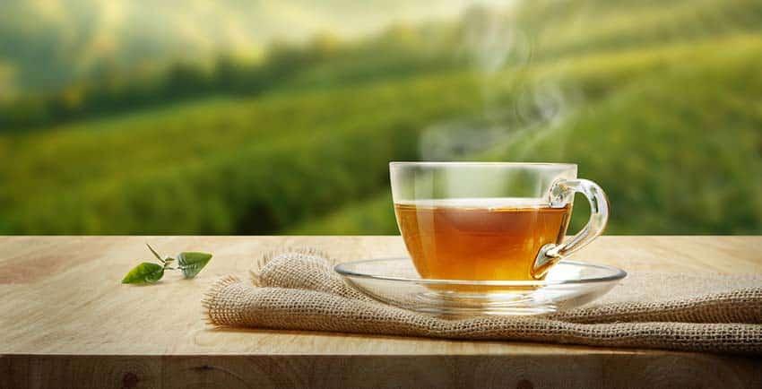 ترکیب چای سبز و دارچین
