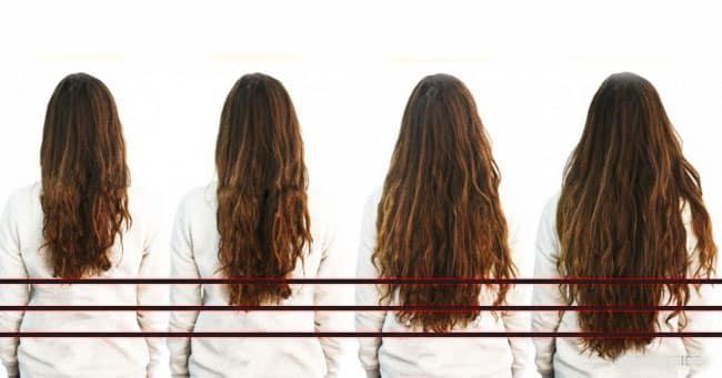 رشد سریع مو در یک هفته