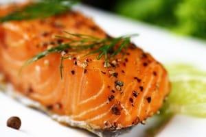 the omega-3s in salmon make it an anti-aging food