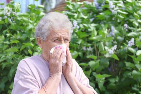 آلرژی سالمندان