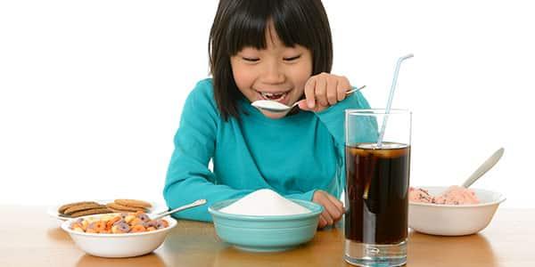 مصرف قند در کودکان