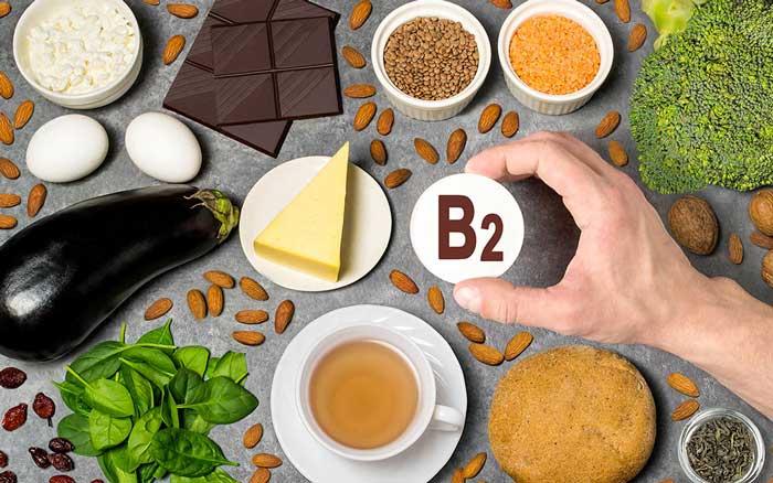 غذاهای سرشار از ویتامین ب2