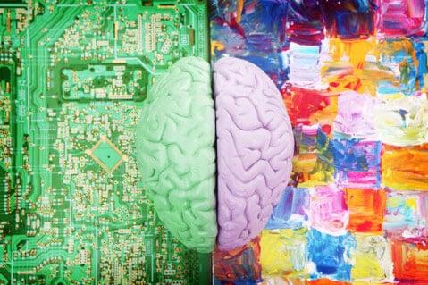 نیمکره سمت چپ و راست مغز