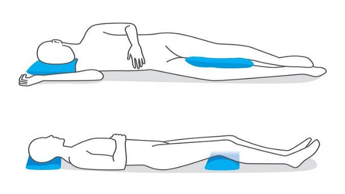 خوابیدن برای گردن درد