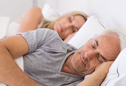 If you sleep on your stomach or side, your face is smooshed into the pillow all night.