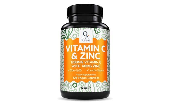 مکمل ویتامین سی و زینک