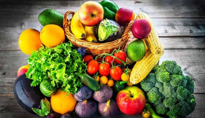 غذاهای میوه و سبزیجات