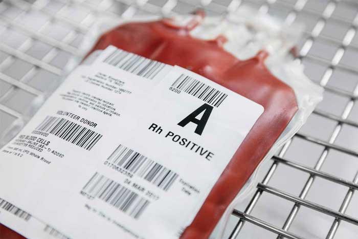 گروه خونی آ مثبت