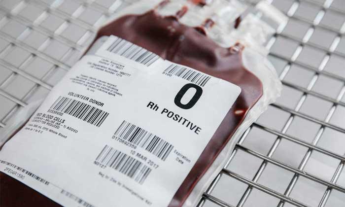گروه خونی او مثبت